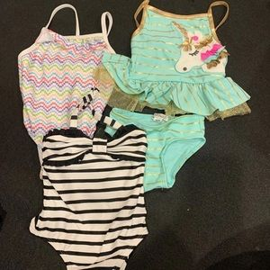 3 12 month bathing suits